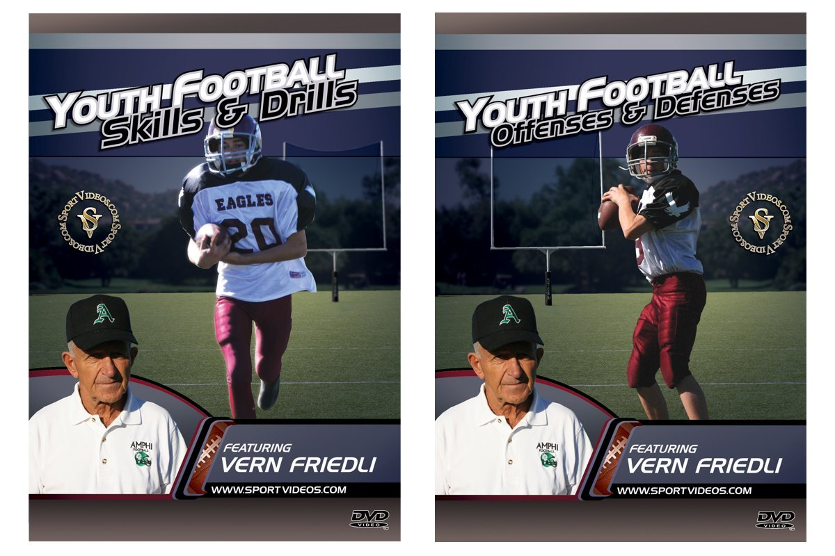 Youth Football 2 DVD Set  - Free Shipping