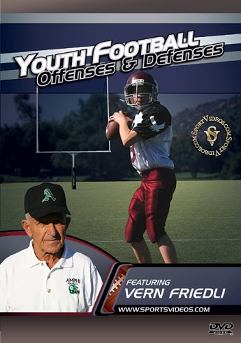 Youth Football Offenses and Defenses DVD or Download - Free Shipping
