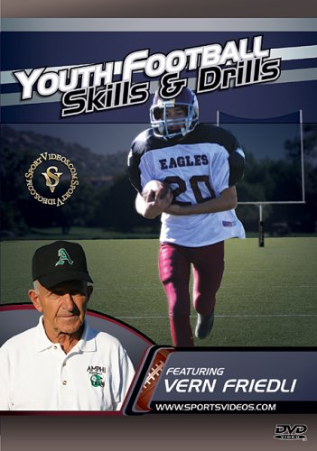 Youth Football Skills and Drills DVD or Download - Free Shipping