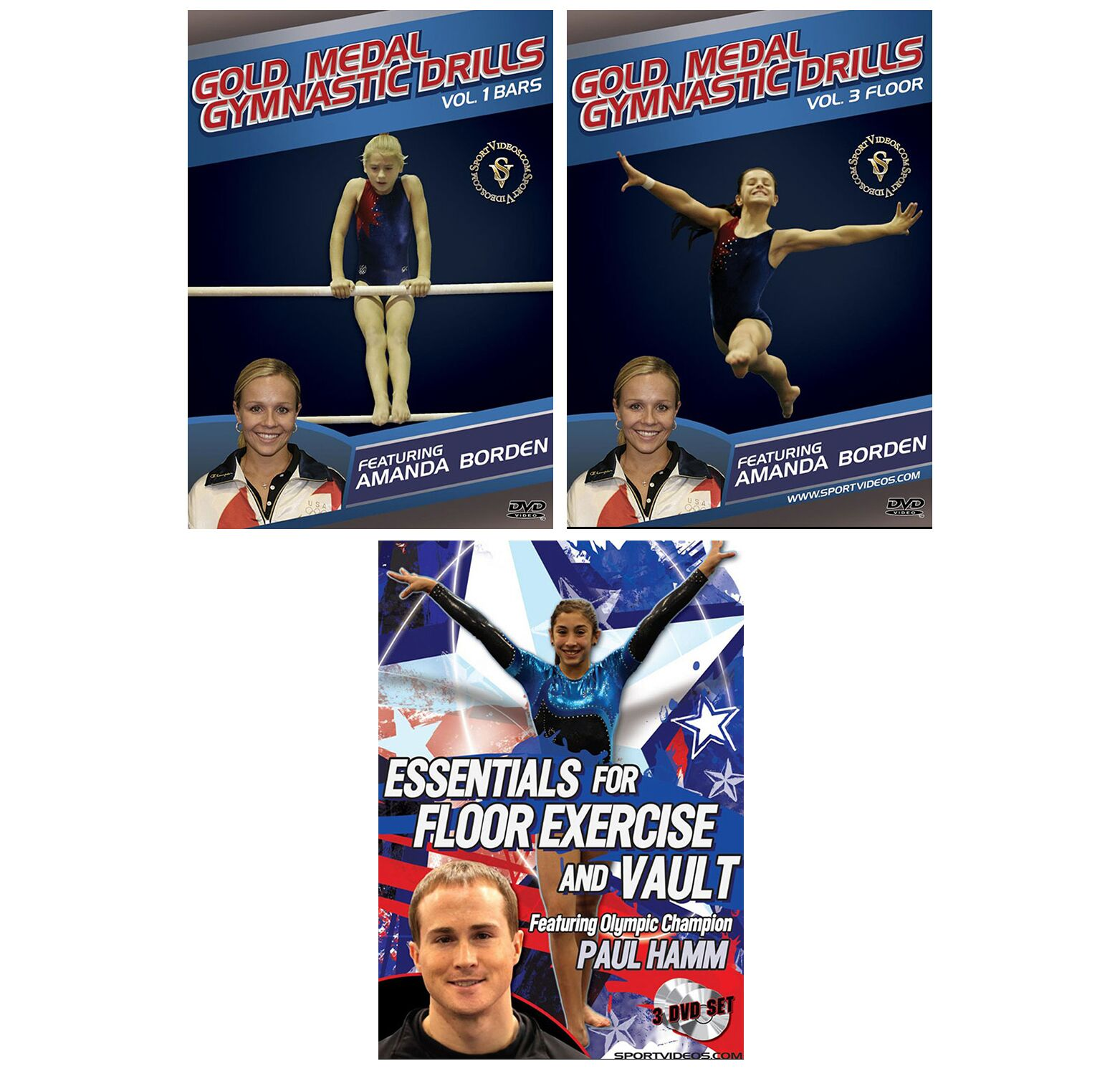 Gymnastics 5 DVD Set *Holiday Sale*