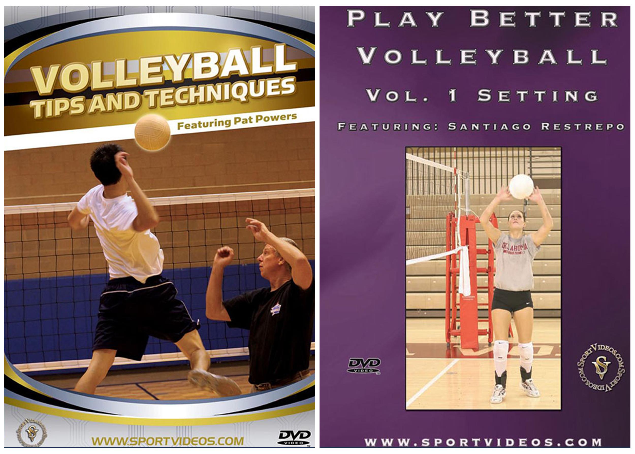 Volleyball 2 DVDs Set