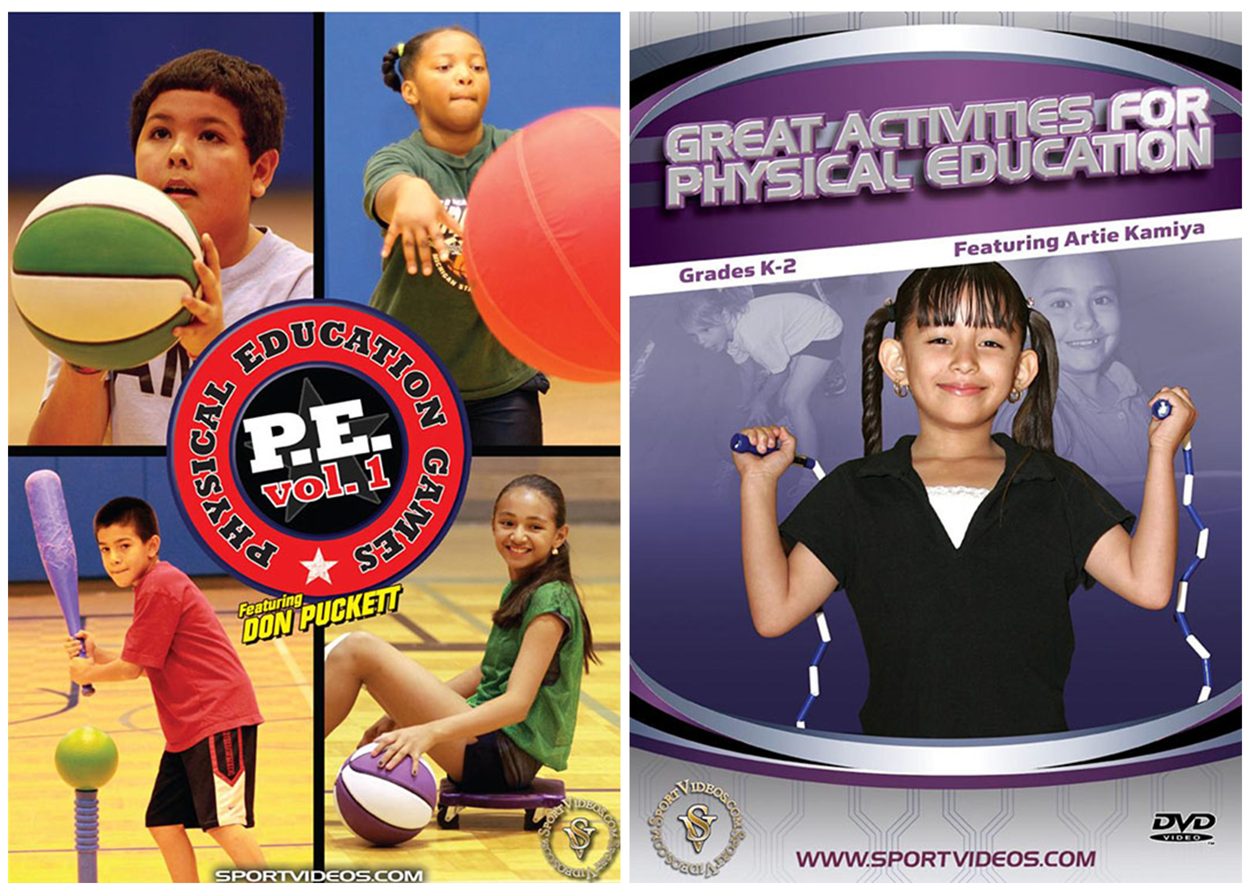 Physical Education 2 DVD Set