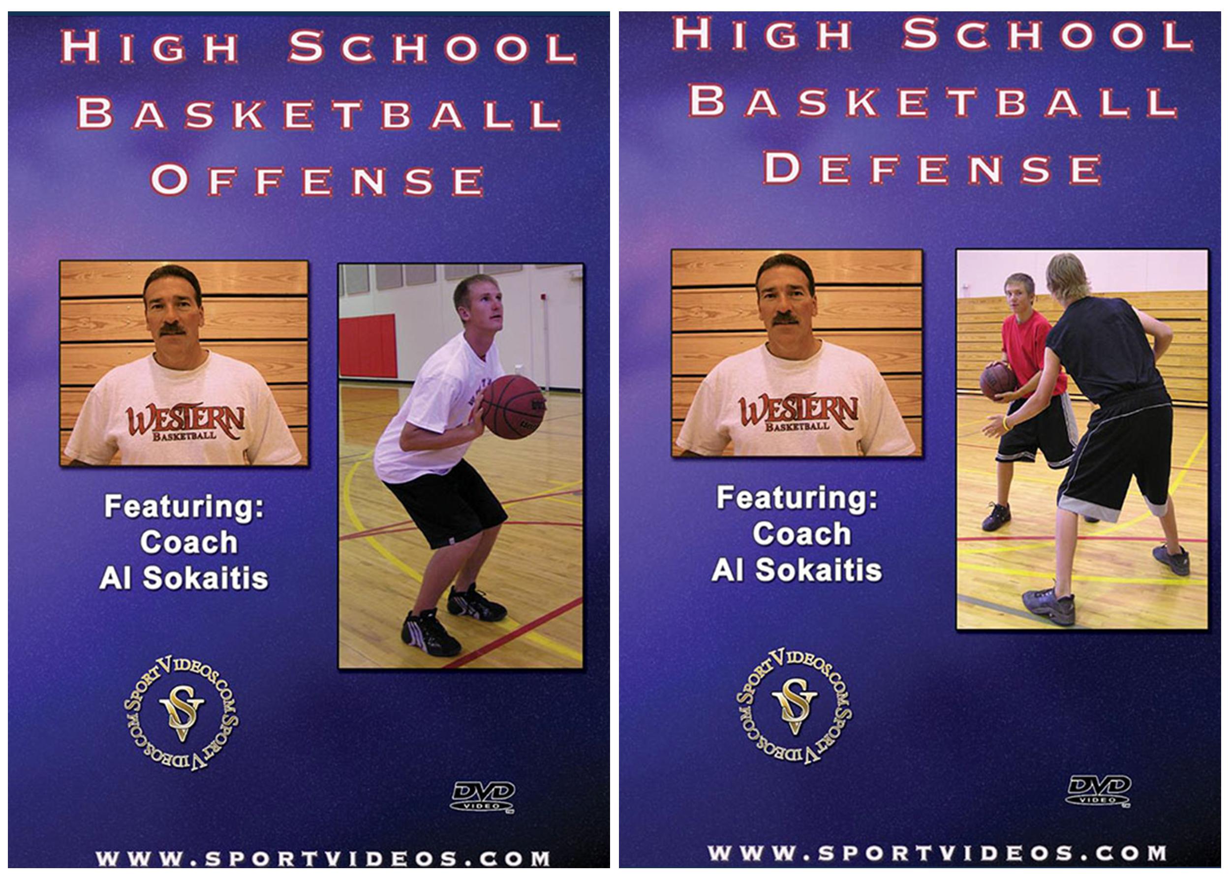 High School Basketball 2 DVD Set