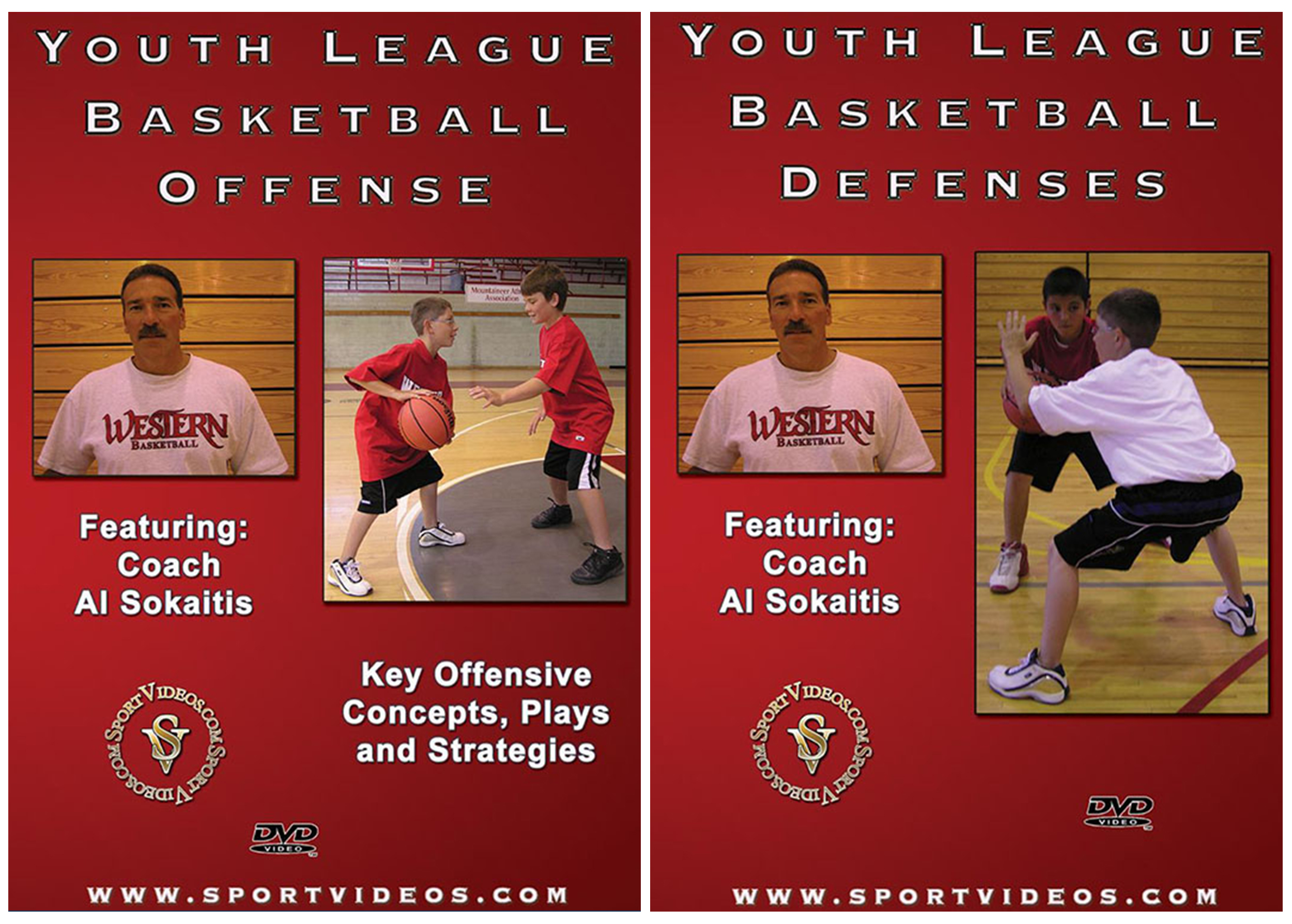 Youth League Basketball 2 DVD Set