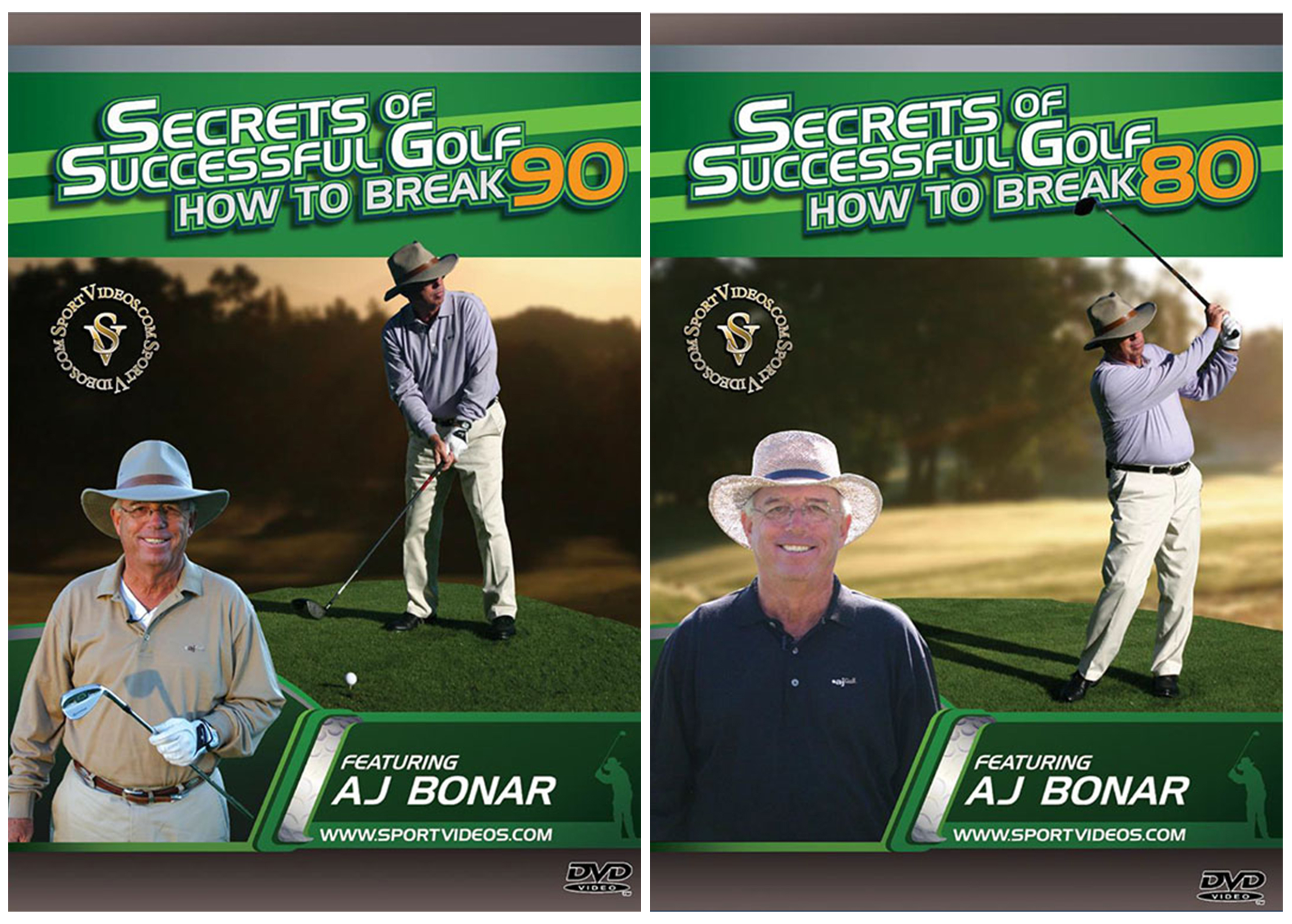 Secrets of Successful Golf 2 DVD Set