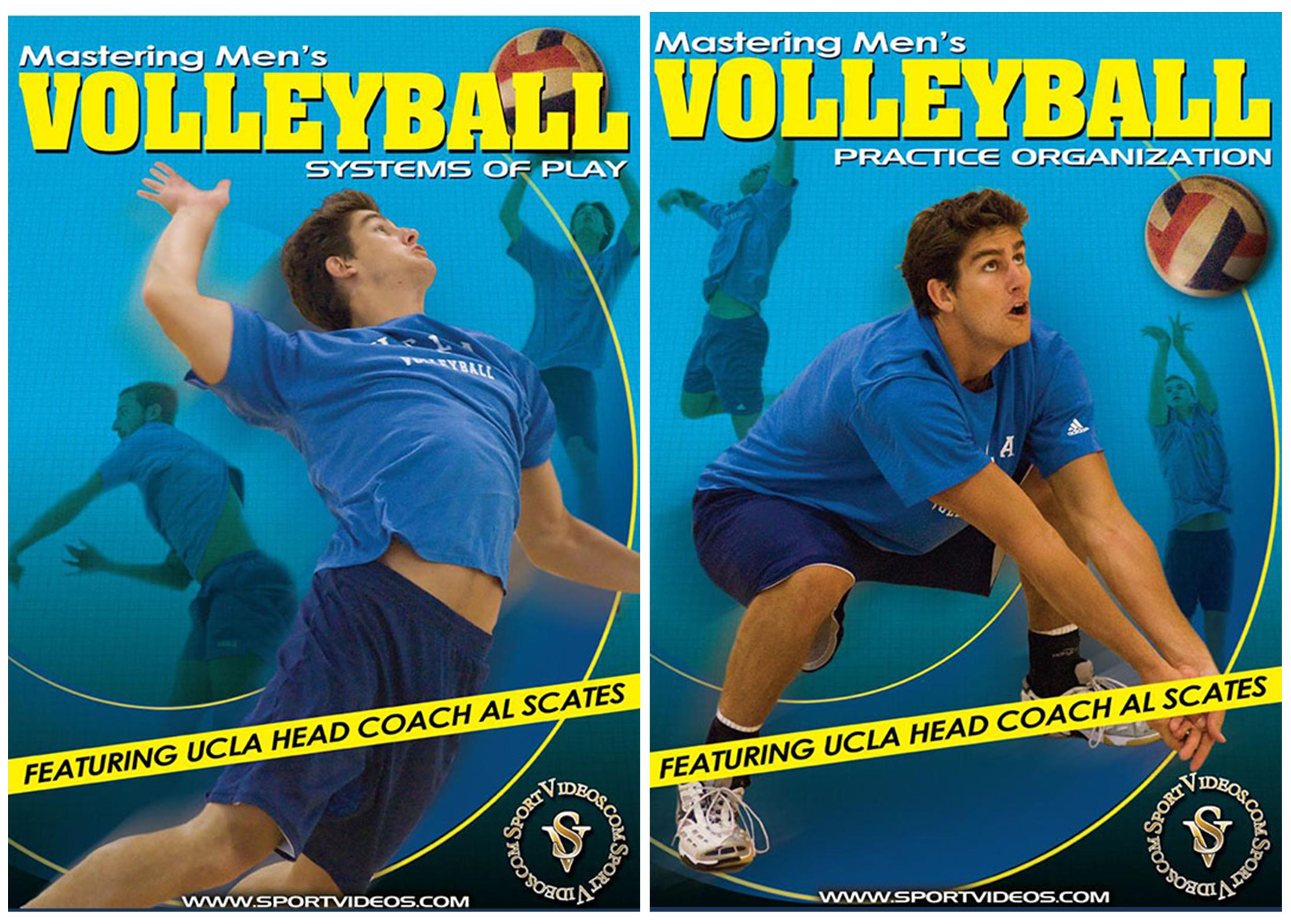 Mastering Men's Volleyball 2 DVD Set