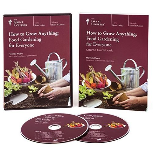 How to Grow Anything : Food Gardening for Everyone~ DVD and Book (New Set) - Free Shipping