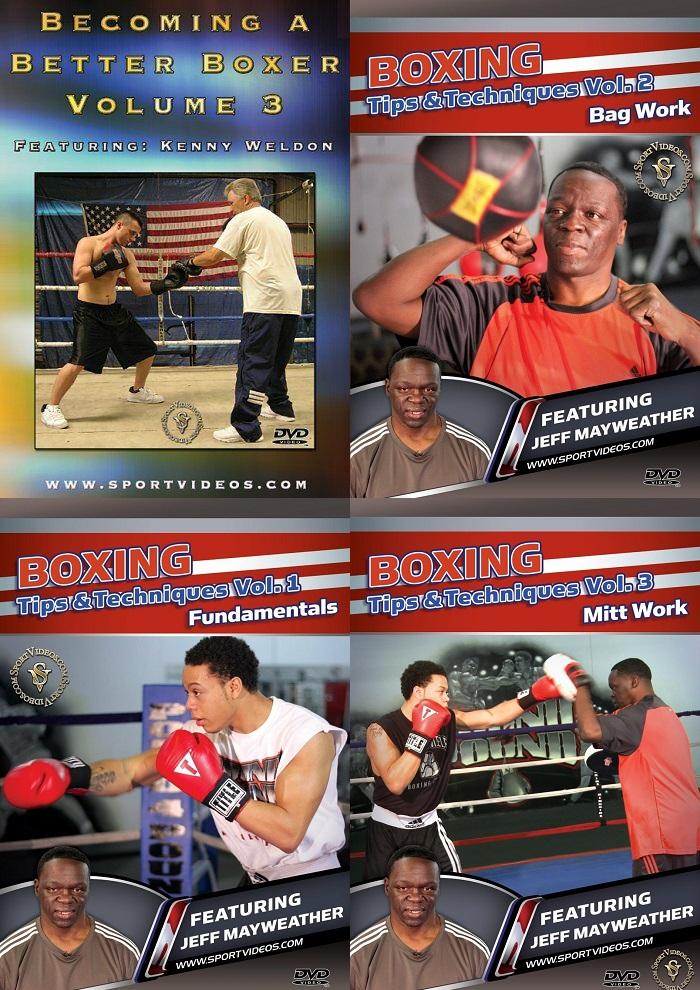 4 Boxing DVD Set- Free Shipping