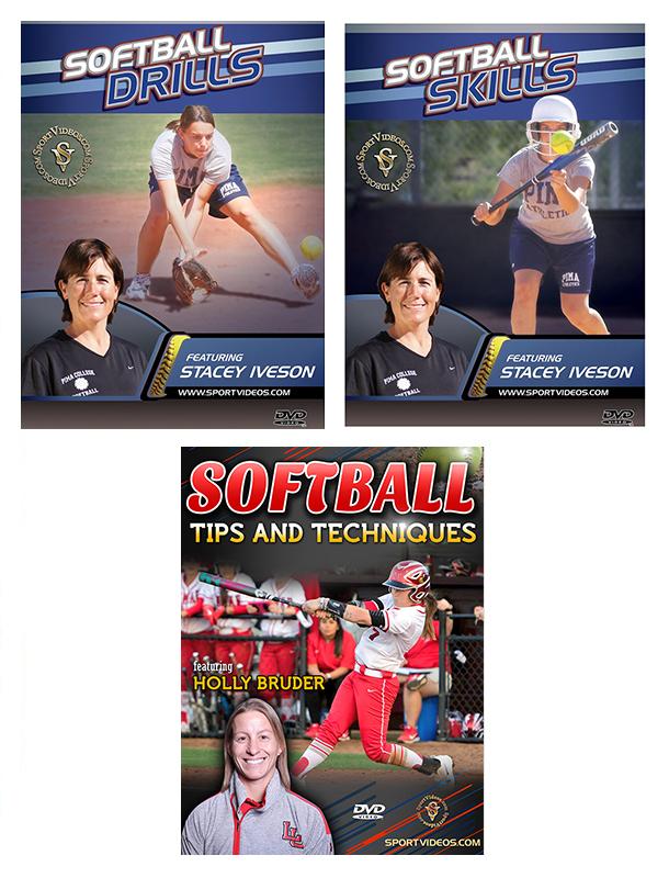 Softball 3 DVD Set or Download- Free Shipping