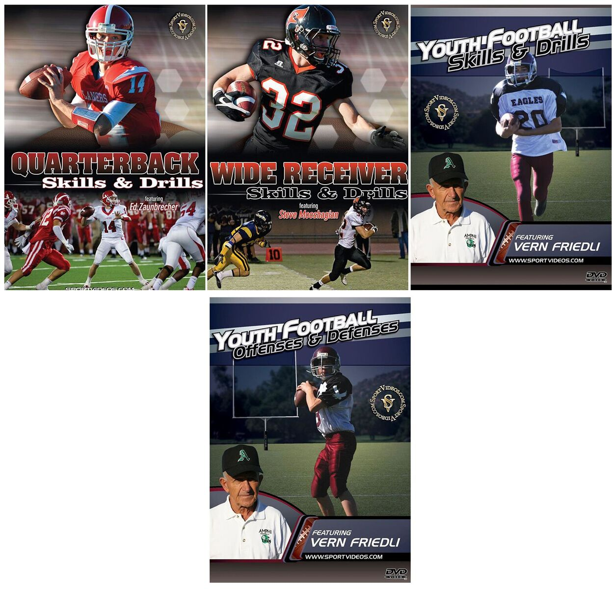Football 4 DVD Set