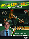 Inside Basketball Practice with Coach Scott Nagy Vol. 2 - DVD or Download - Free Shipping