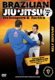 Brazilian Jiu-Jitsu Techniques and Tactics: Self Defense DVD