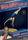 Gold Medal Gymnastics Drills: Vault DVD with Coach Amanda Borden-Free Shipping