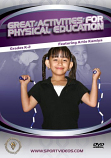 Great Activities for Physical Education: Grades K-2 DVD or Download - Free Shipping