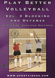 Play Better Volleyball Blocking and Defense Download