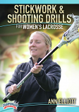 Stickwork & Shooting Drills for Women's Lacrosse DVDs
