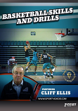 Basketball Skills and Drills 2 DVD Set or Download featuring Coach Cliff Ellis- Free Shipping